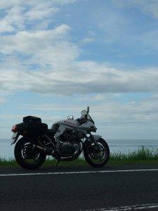 日本海を見てきたよ。